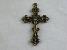 30pcs Bronze Color Crucifix Charms Jewelry DIY 43.5x26x3mm 1299