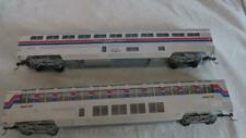 "CON-COR HO R-T-R ""AMTRAK"" Superliner lounge cafe & coach baggage 2 cars  lot 1"