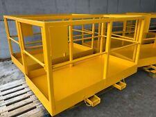 More details for working platform £675+vat man basket, cherry picker, fork jcb, manitou