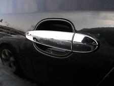 4 COUVRE POIGNEE DE PORTE CHROME BMW SERIE 5 6 E60 E61 E63 E64 / X3 E83 NEUF