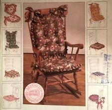 NEW VINTAGE 1995 CHAIR PADS  SEWING PATTERN 7811