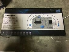 Linksys AC1200 Dual Band Smart WiFi Router + N300 WiFi Range Extender New In Box