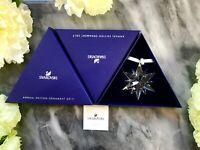 NIB Swarovski Large Annual 2017 Christmas Ornament Snowflake Crystal 5257589