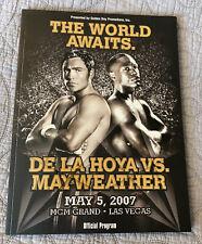 DE LA HOYA VS MAYWEATHER  - MGM GRAND - 5/5/2007 - BOXING PROGRAM  - LOOK!