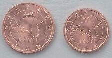 1+2 Euro Cent Estland 2015 unz