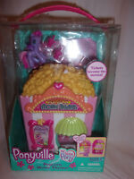 Ponyville My Little Pony Popcorn Movie Theater Ages 4+ Fold Out Toy