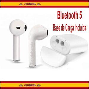 Auriculares Inalambricos Cascos Bluetooth 5.0 Base de Carga incluida IOS Android