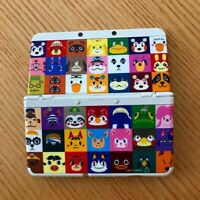 Nintendo 3DS Console Kisekae Plates Pack Animal Crossing Isabelle