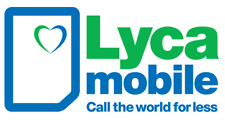 New LYCAMOBILE Pay As You Go sim cards. 500 UK + 500 INTERNATIONAL minutes