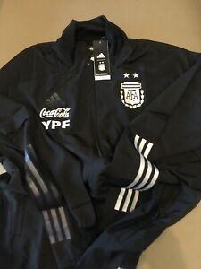 RARE Adidas AFA Argentina Presentation Black 2020 Jacket (LARGE)  Aeroready