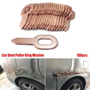 Dent Puller Ring For Spot Welding Welder Body Panel Pulling Washer Tool 100PCS