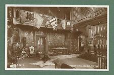 1949 RP POSTCARD FRONT HALL, BLAIR CASTLE