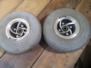 Pair Of Freerider Mayfair Mobility Scooter Front Wheels 3.00-4