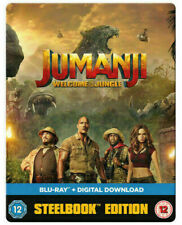 Jumanji - Welcome to the Jungle : Steelbook Blu-ray   NEW & SEALED