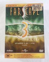 Universal Farscape Season 3 DVD Boxed Set 6 Disc Collectors Edition PAL 2003