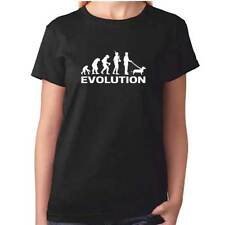 Ladies Evolution Of The DACHSHUND Tshirt - Womens Sausage Dog T Shirt - Clothing