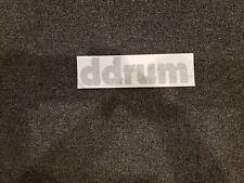 ddrum Black Logo Replacement Sticker