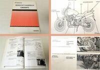 Werkstatthandbuch Honda CB900F2 Hornet Reparaturanleitung 2001