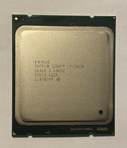 Intel Core i7-3820 3.60GHz SR0LD 2011 CPU FREE DELIVERY