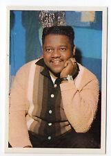 1960s German Film Star Card #130 US Pianist Singer Songwriter Fats Domino