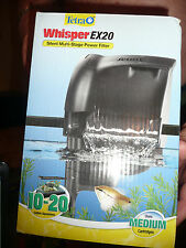 TETRA WHISPER EX20 SILENT MULTI STAGE POWER FILTER TANKS UP TO 20 GALLONS FRESH
