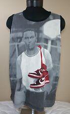 VTG Nike Air Jordan Tank Top XL Jersey All Over Athletic Poster