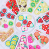 12 Patterns 3D Fruit  Slice DIY Colorful Nail Art Stickers Tips Decoration