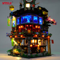 LED Light Up Kit For LEGO 70620 NINJAGO City Ninja City Lighting Set building