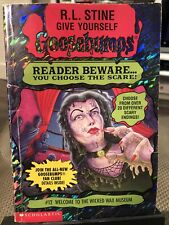 Give Yourself Goosebumps: Welcome to the Wicked Wax Museum (#12) R.L. Stine CULT