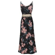 Dress Dresses women's V Neck Floral Women Fashion Sleeveless Maxi Womens