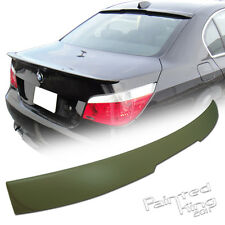 04-10 Unpainted BMW 5-Series E60 A-Type Sedan Rear Roof Lip Spoiler ABS