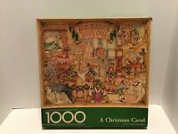 Springbok A Christmas Carol Jigsaw Puzzle 1000pcs PLZ5917 Hallmark 1980 Complete