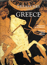 Treasures of Greece by Emmanuelle le Pommelet 2006 HC DJ Grange Books