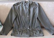 COTTON ON Women's Girls Khaki Jacket With Hood Size M