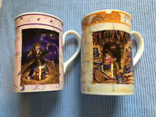 Royal Doulton Harry potter 2 mugs Made Uk learn leviatate &family 4 ins high