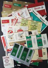CIGARETTE soft pack wrapper label STARTER COLLECTION 76 different VINTAGE BRANDS