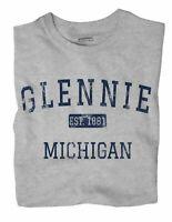 Glennie Michigan MI T-Shirt EST