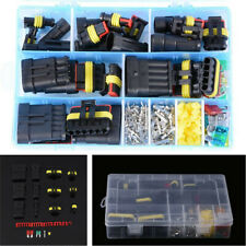 1 2 3 4 5 6 Pin Way Wire Electrical Waterproof Connectors Kit Plug Car 240pcs