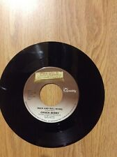 Chuck Berry Rock And Roll Music / Deep Feeling Canadian  45