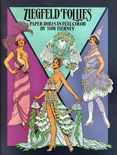 Ziegfeld Follies Paper Dolls in Full Color Tom Tierney