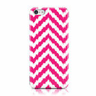 DYEFOR CREAM PINK WAVE ZIGZAG PATTERN CASE COVER FOR APPLE IPHONE MOBILE PHONES