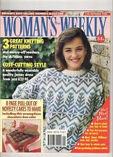 WOMANS WEEKLY  1 OCT 1988 FASHION SHOPPING BEAUTY FOOD LIFE TRAVEL HEALTH