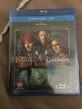 Pirates Of The Caribbean: Dead Man's Chest (Blu-ray/DVD, 2-Disc Set, 2011) NEW