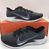 Nike Zoom Pegasus Turbo 2 Mens Multi Size Shoes AT2863 001 Black Multicolor NEW