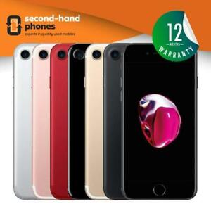 Apple iPhone 7 32GB 128GB 256GB Factory Unlocked /SIM FREE All Colours & Grades