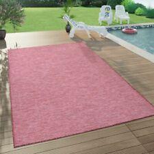 In- & Outdoor-Teppich Für Wohnzimmer, Balkon, Terrasse, Flachgewebe Lila Fuchsia