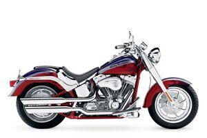 Harley Davidson FLSTFSE Screamin Eagle Fatboy Chrome Solo Seat 52279-05 51827-05