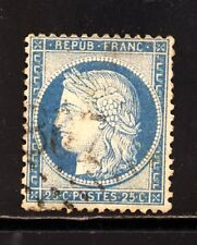 "FRANCE  N° 60 GC 807 BORDEAUX, GIRONDE. VARIETE: point bleu sur ""U"". TRES BEAU"