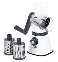 100% Genuine! AVANTI Table Top Drum Grater with 3 Blades! RRP $79.95!