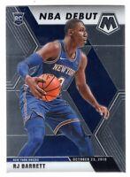 2019-20 Panini Mosaic Basketball Rookie Debut RC RJ Barrett #270 New York Knicks